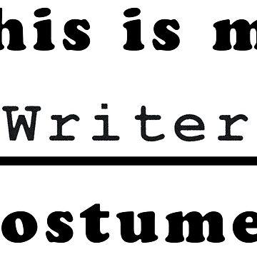 Writer Costume by keltickat