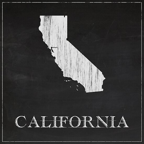 California - Chalk by FinlayMcNevin