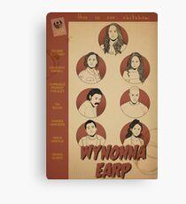 Wynonna Earp Poster Canvas Print