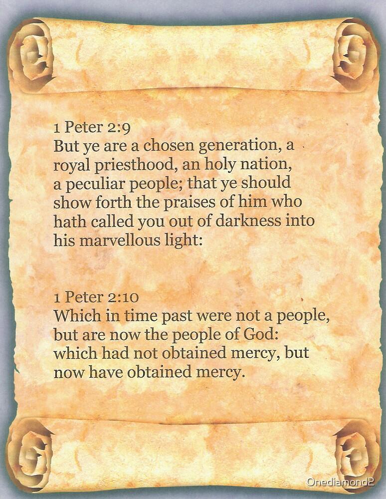 I Peter 2:9-10 by Onediamond2