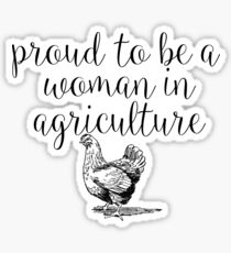 Women In Agriculture Sticker