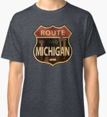 Route Michigan Sign Classic T-Shirt