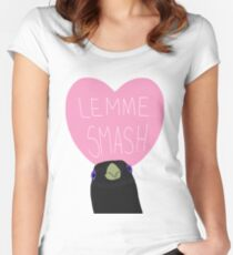 Lemme Smash  Women's Fitted Scoop T-Shirt