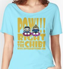 STPC: Pow!!! Right in the Chibi 2.0 Women's Relaxed Fit T-Shirt