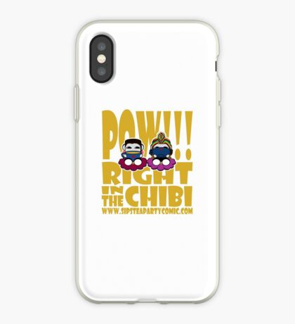 STPC: Pow!!! Right in the Chibi 2.0 iPhone Case