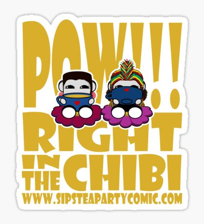 STPC: Pow!!! Right in the Chibi 2.0 Sticker