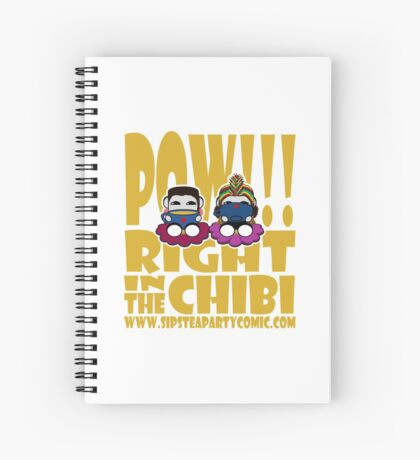 STPC: Pow!!! Right in the Chibi 2.0 Spiral Notebook