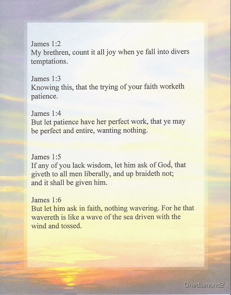 James 1:1-6 by Onediamond2