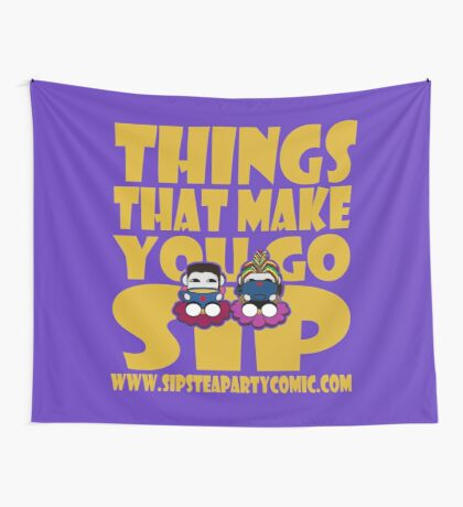 STPC: Things That Make You Go Sip 2.0 Wall Tapestry