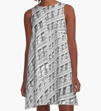City Rhythm  A-Line Dress