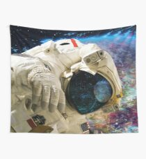 Extra Dimensional Space Walk Wall Tapestry