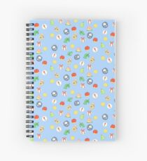 Animal Crossing Logo Pattern Spiral Notebook