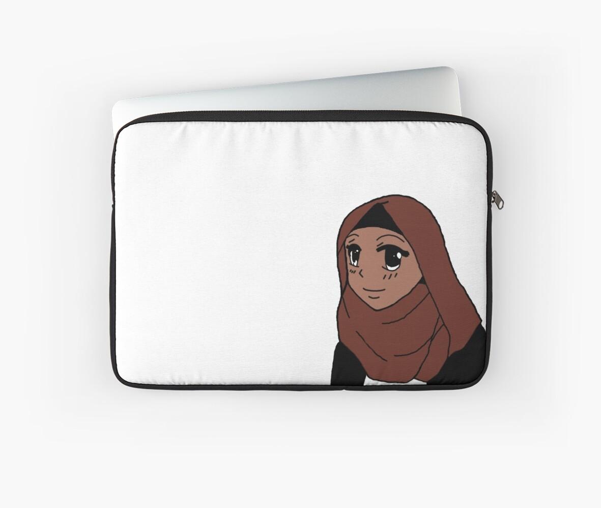 Muslim anime girl by sumaybay