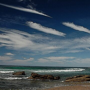 3 by 3: Sky by Sea, Werrong Beach by muz2142