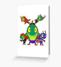 Murloc-avengers Assemble Greeting Card