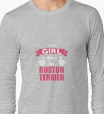 This Girl Loves Her Boston Terrier T-Shirt