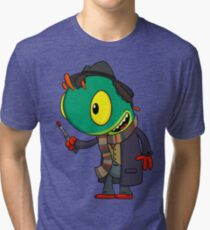Doctor Who-loc Tri-blend T-Shirt