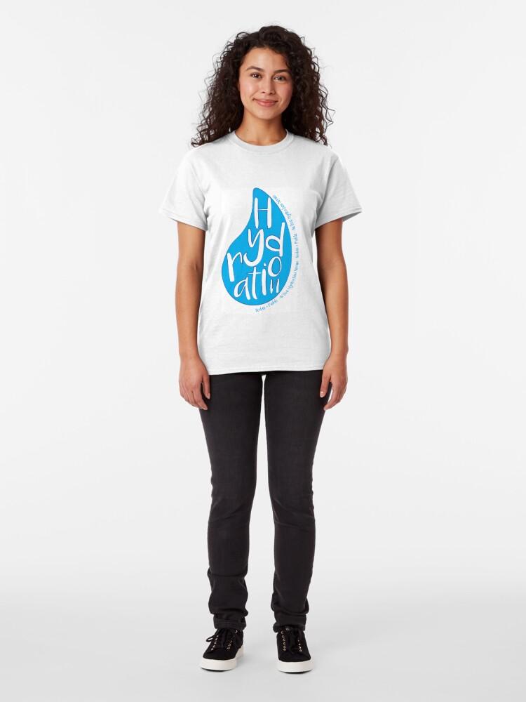 Alternate view of Hydration Serum Classic T-Shirt