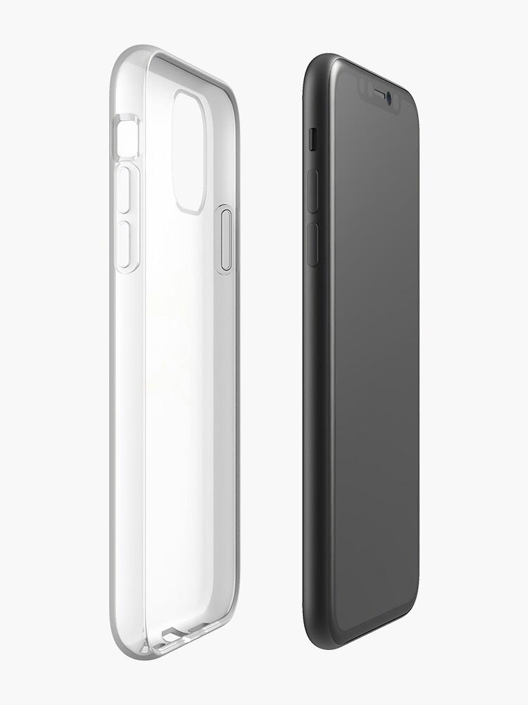 Coque iPhone «Custard éclaté», par haski3