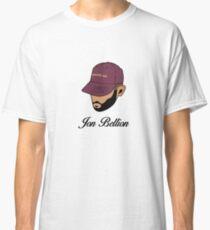Jon Bellion face beautiful mind with text Classic T-Shirt