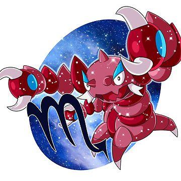 Pokemon Zodiac- Scorpio by FireFlea