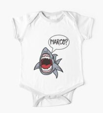 Hungry Shark Playing Marco Polo Kids Clothes
