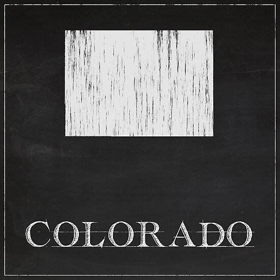 Colorado - Chalk by FinlayMcNevin