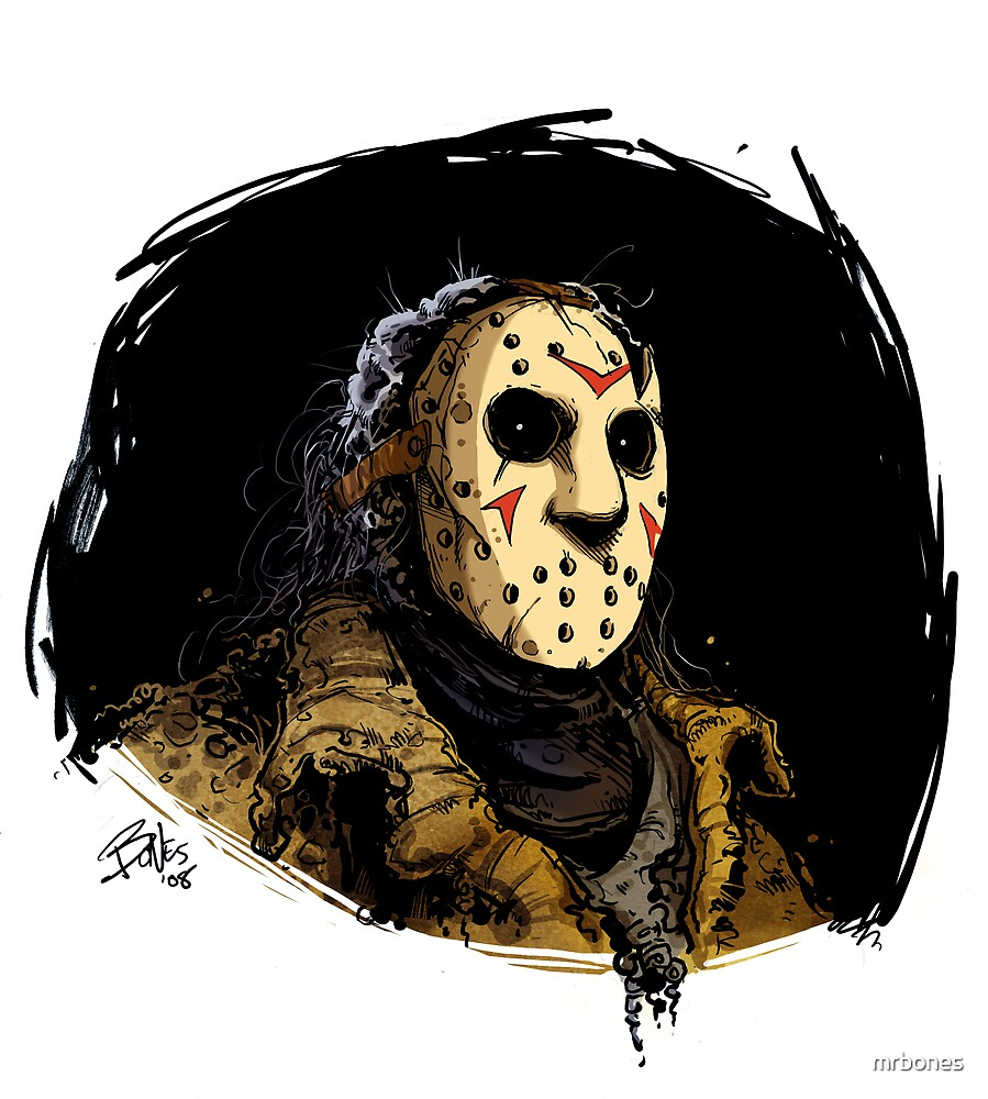 JASON IN COLOR by mrbones