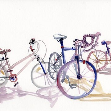 Bicycles in Summer by EvelynHoward