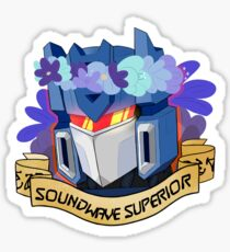 Soundwave Superior Sticker