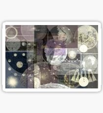Astronomy Collage Sticker