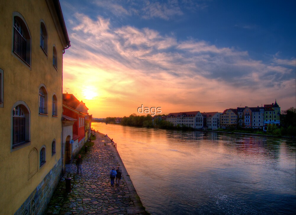 Danube Sunset by dags