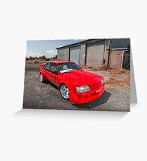 Anthony Fava's HDT VK Group C Replica Greeting Card