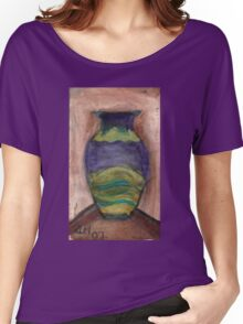 Hand-Painted Vase Women's Relaxed Fit T-Shirt