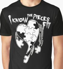 I know the pieces fit Graphic T-Shirt