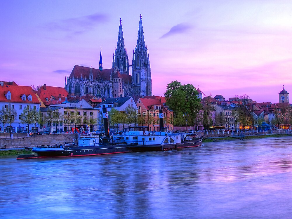Regensburg Sunset by dags