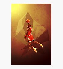 MJ Air Time Photographic Print
