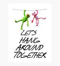 Hang Around Photographic Print