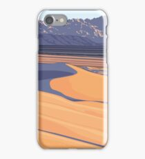 Vintage Travel Poster – Mojave Trails National Monument iPhone Case/Skin