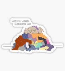 Dobby is sock guardian Sticker