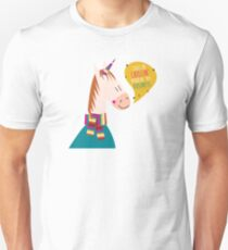 rapping hip hop series - unicorn, also see goat, octopus T-Shirt