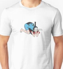 why was i born a train Unisex T-Shirt