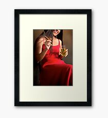 Intoxicate Framed Print