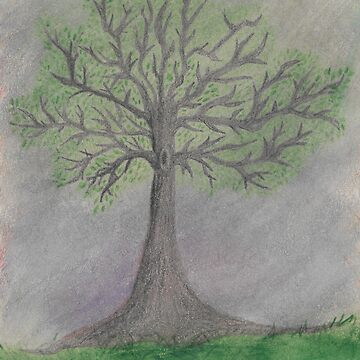 Watercolor Tree by RaeSyndrome
