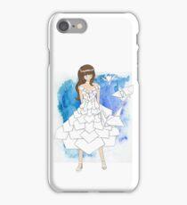 Origami Anime Girl Design iPhone Case/Skin
