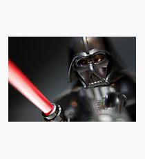 The Dark Lord Vader Photographic Print
