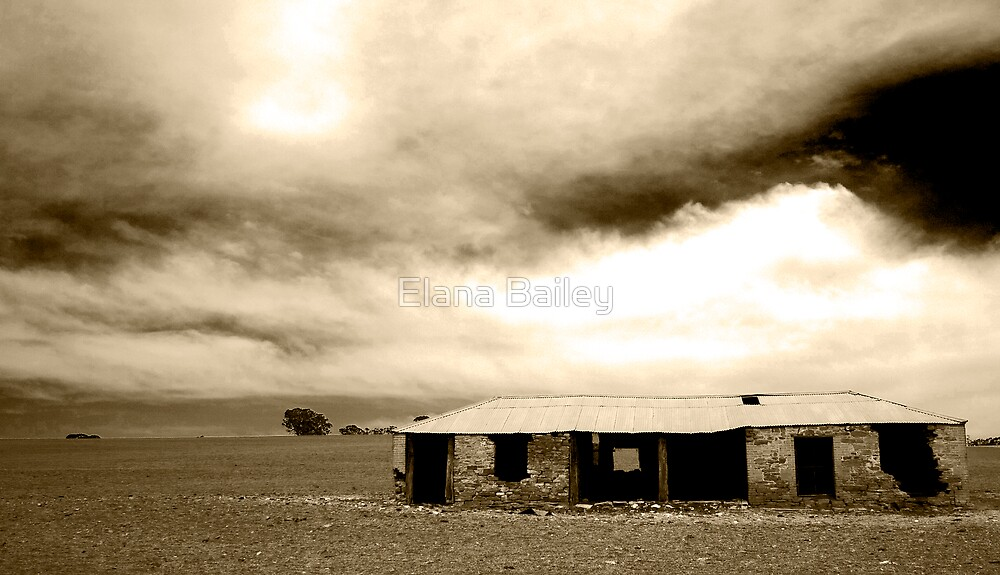 Abandoned House, Clare by Elana Bailey