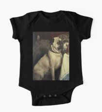 At the Table -- Pug and Friend  Kids Clothes