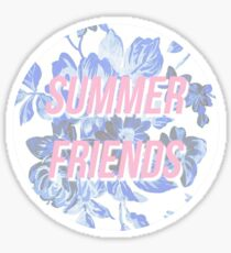 Summer Friends Chance the Rapper Sticker