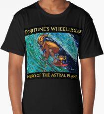 Fortune's Wheelhouse Tabula Mundi Chariot Long T-Shirt